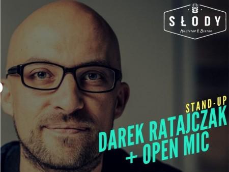 Szczecińska Liga Stand-up: Darek Ratajczak + Open-Mic