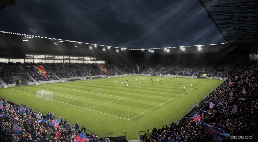 Stadion Miejski Szczecin zmiany w projekcie
