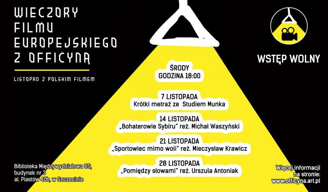 listopadowe środy z polskim filmem