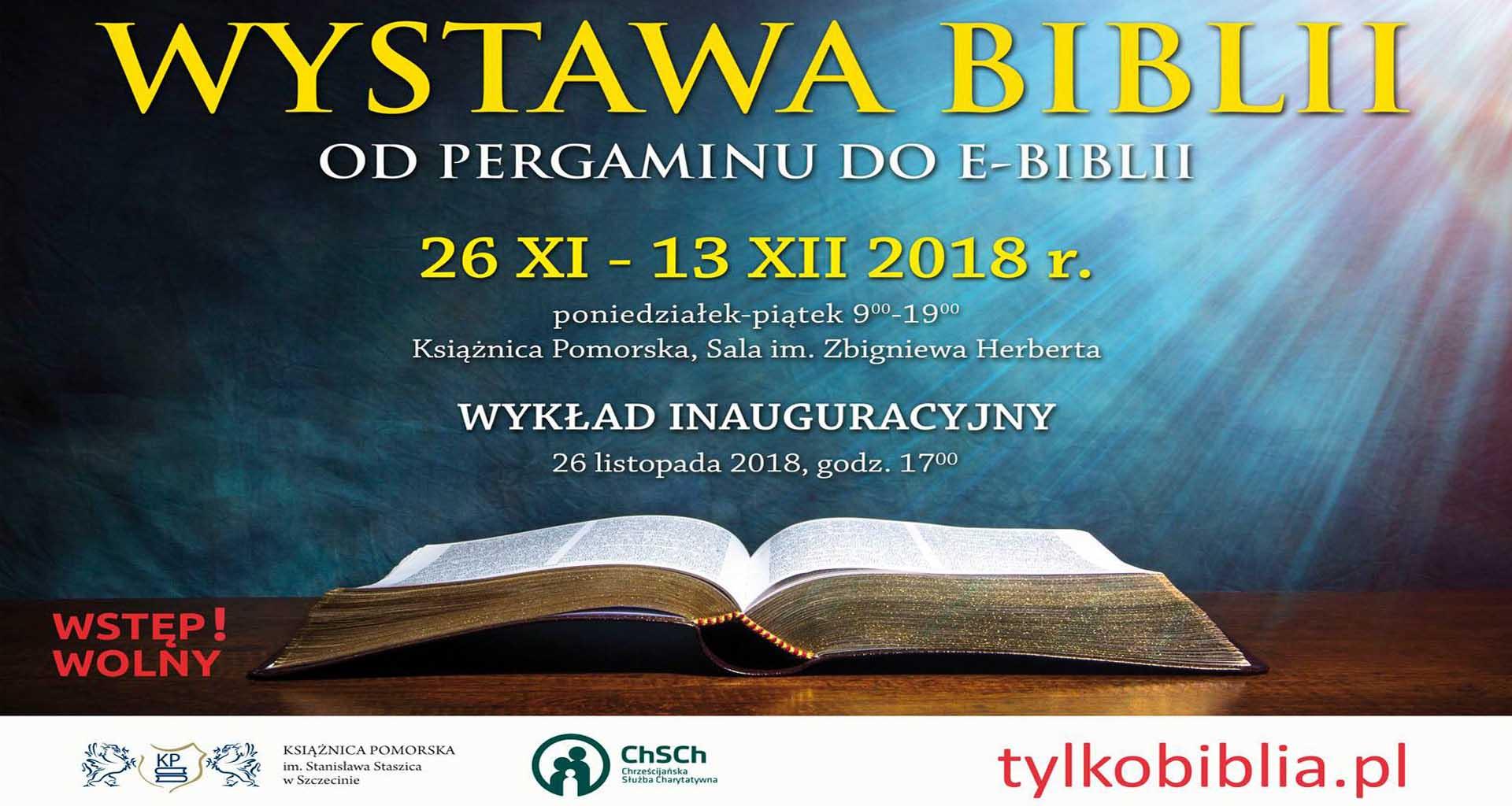 Wystawa Biblii: Od pergaminu do e-Biblii