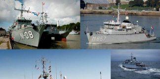 okręty wojenne Szczecin