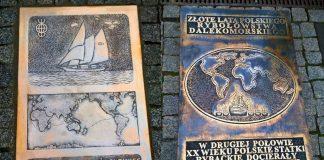 tablice pamiątkowe Aleja Żeglarzy