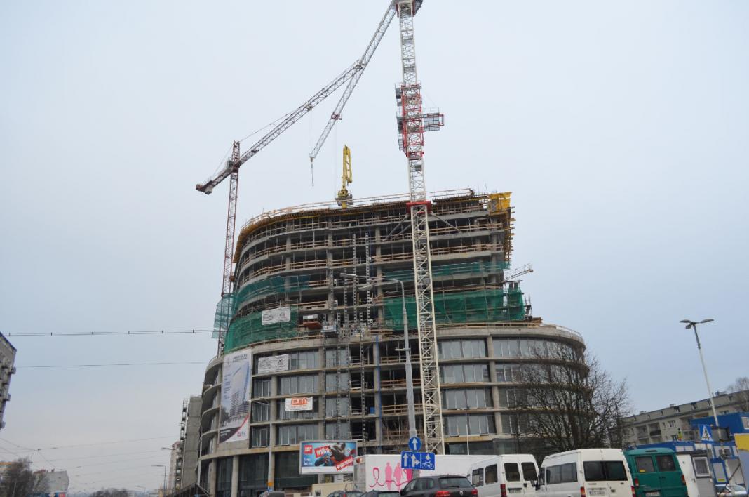 Hanza Tower przyspieszenie prac