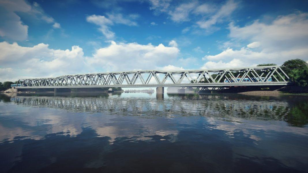 most kolejowy Podjuchy
