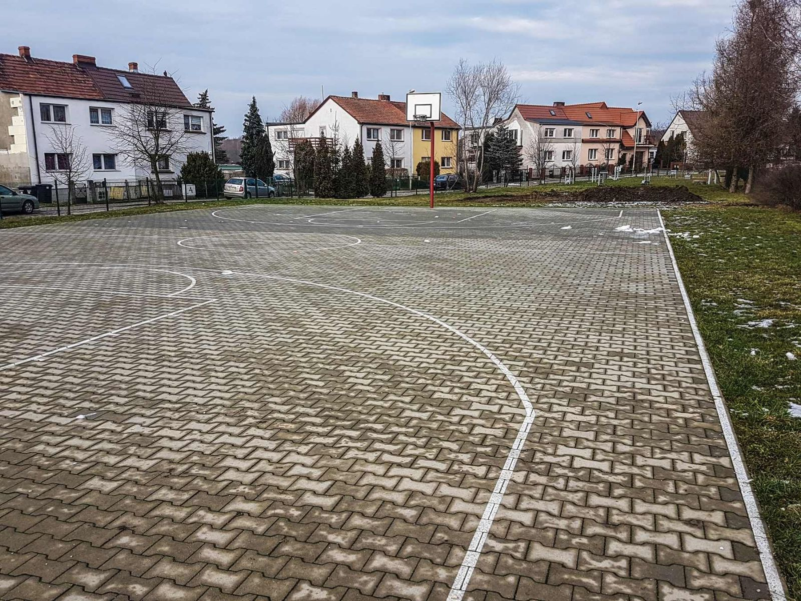teren rekreacyjny ulica Okólna