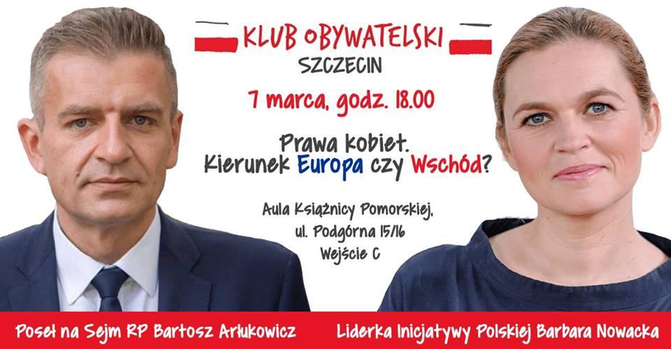Spotkanie z Barbarą Nowacką i Bartoszem Arłukowiczem