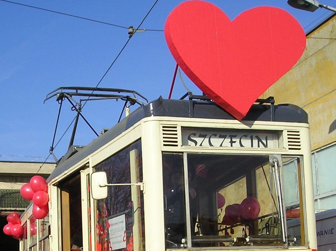 walentynkowy tramwaj