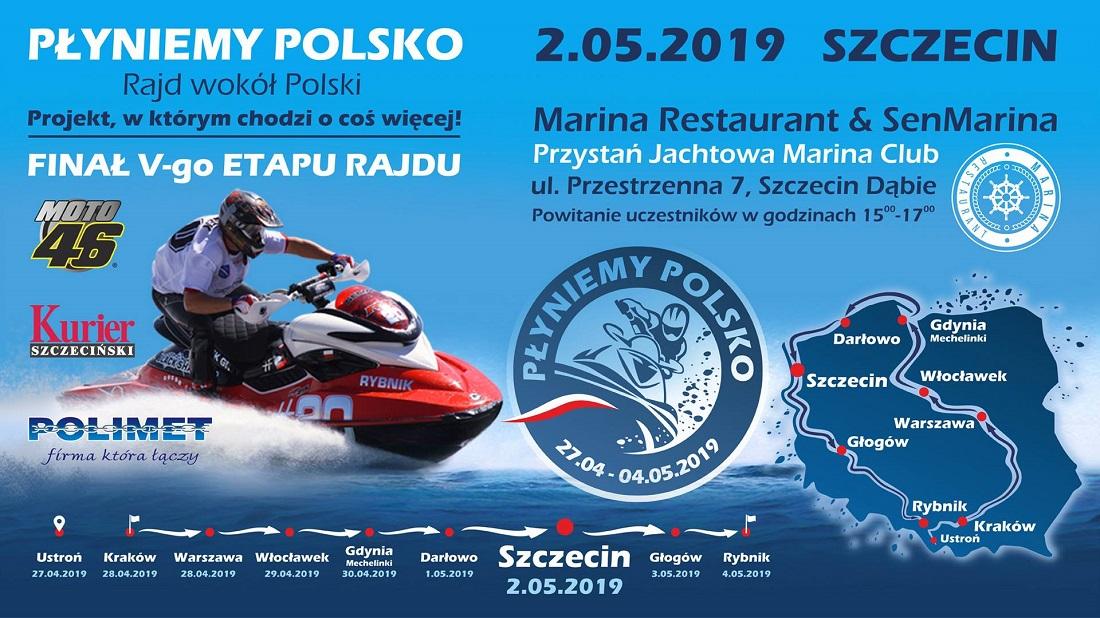 Płyniemy Polsko- etap Szczecin