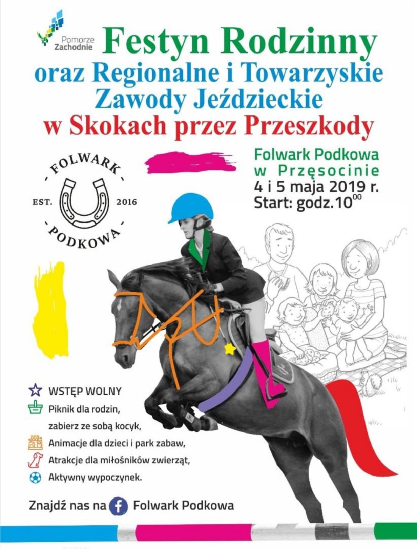 Festyn Rodzinny oraz Regionalne i Towarzyskie Zawody Jeździeckie