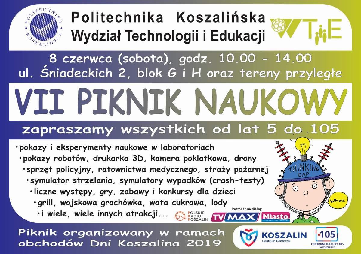 VII Piknik Naukowy Wydziału Technologii i Edukacji
