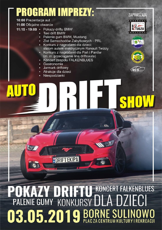 Auto Drift Show Borne Sulinowo