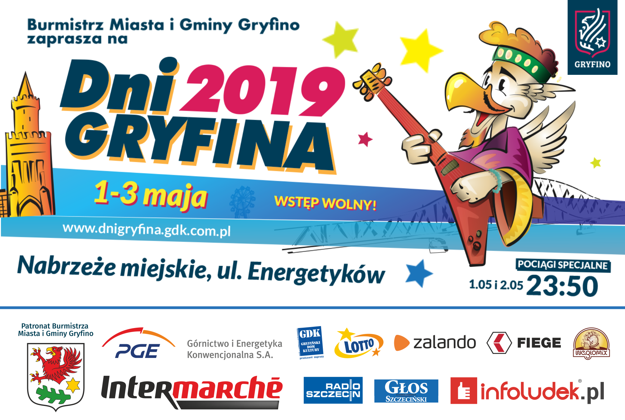 Dni Gryfina 2019 program