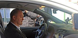 Piotr Krzystek samochód elektryczny