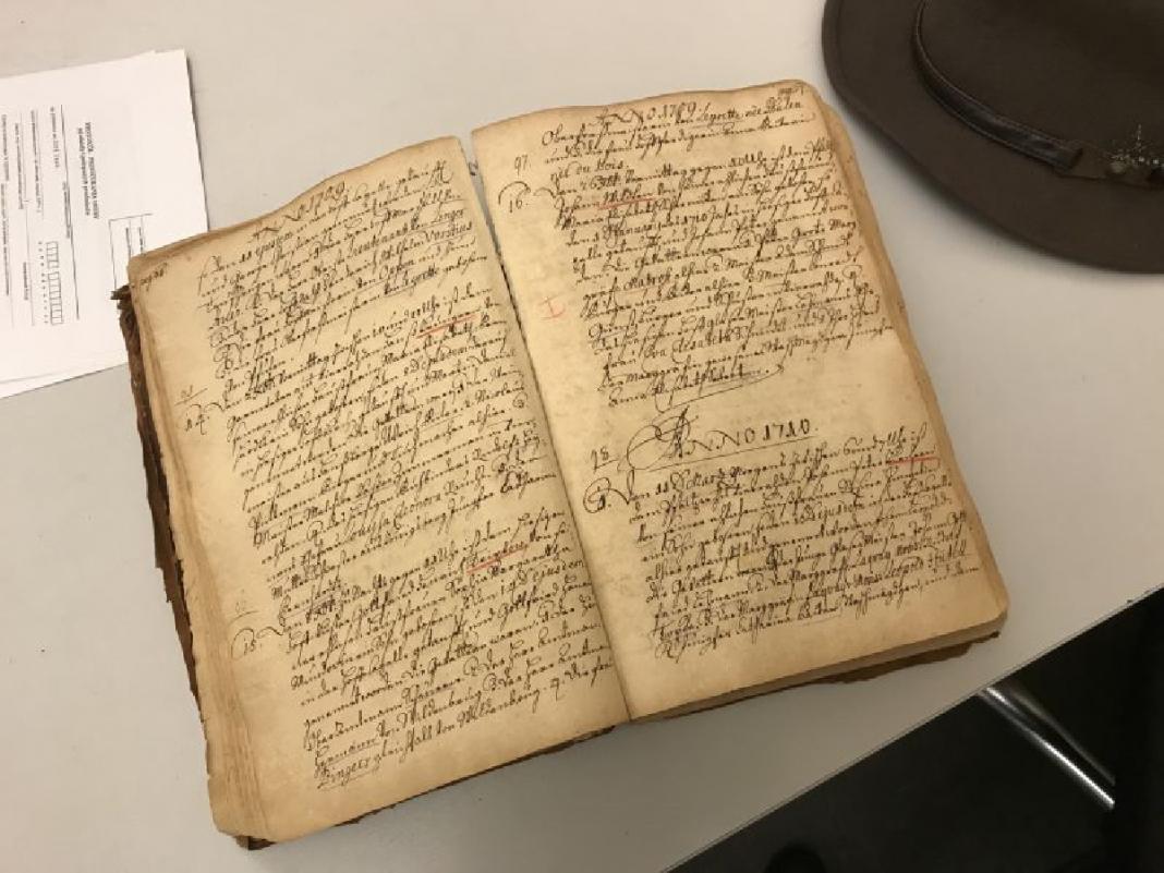 skradziona w Berlinie księga kościelna