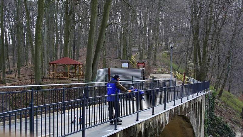 mostek Jezioro Szmaragdowe