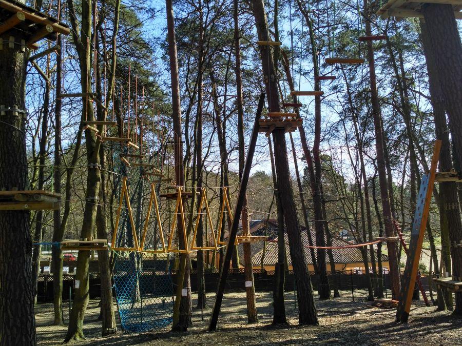 Park Linowy kąpielisko Głębokie