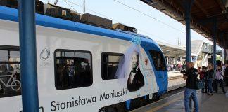 pociąg imienia Stanisława Moniuszki