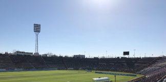 Stadion Miejski demontaż krzesełka dach