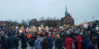 marsz manifestacja nauczycieli szczecin