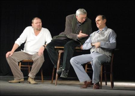 Scenariusz dla trzech aktorów - spektakl