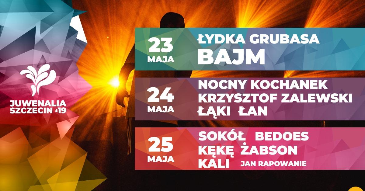 Juwenalia 2019: Sokół, Bedoes, Kękę, Żabson