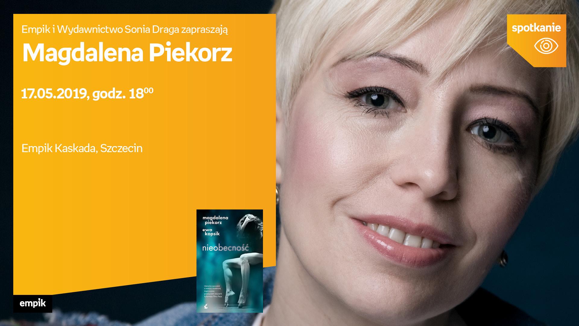 Magdalena Piekorz- spotkanie z autorem