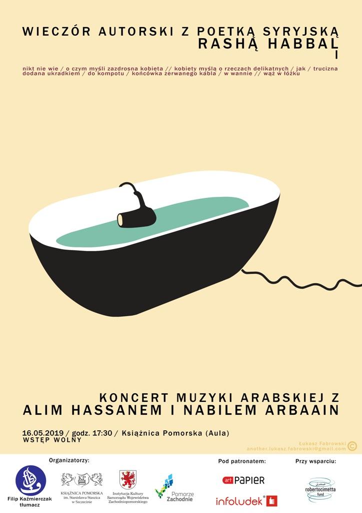 Wieczór muzyczno-literacki z syryjską poetką Rashą Habbal i zespołem Matar