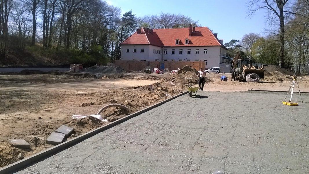 Bukovasport budowa