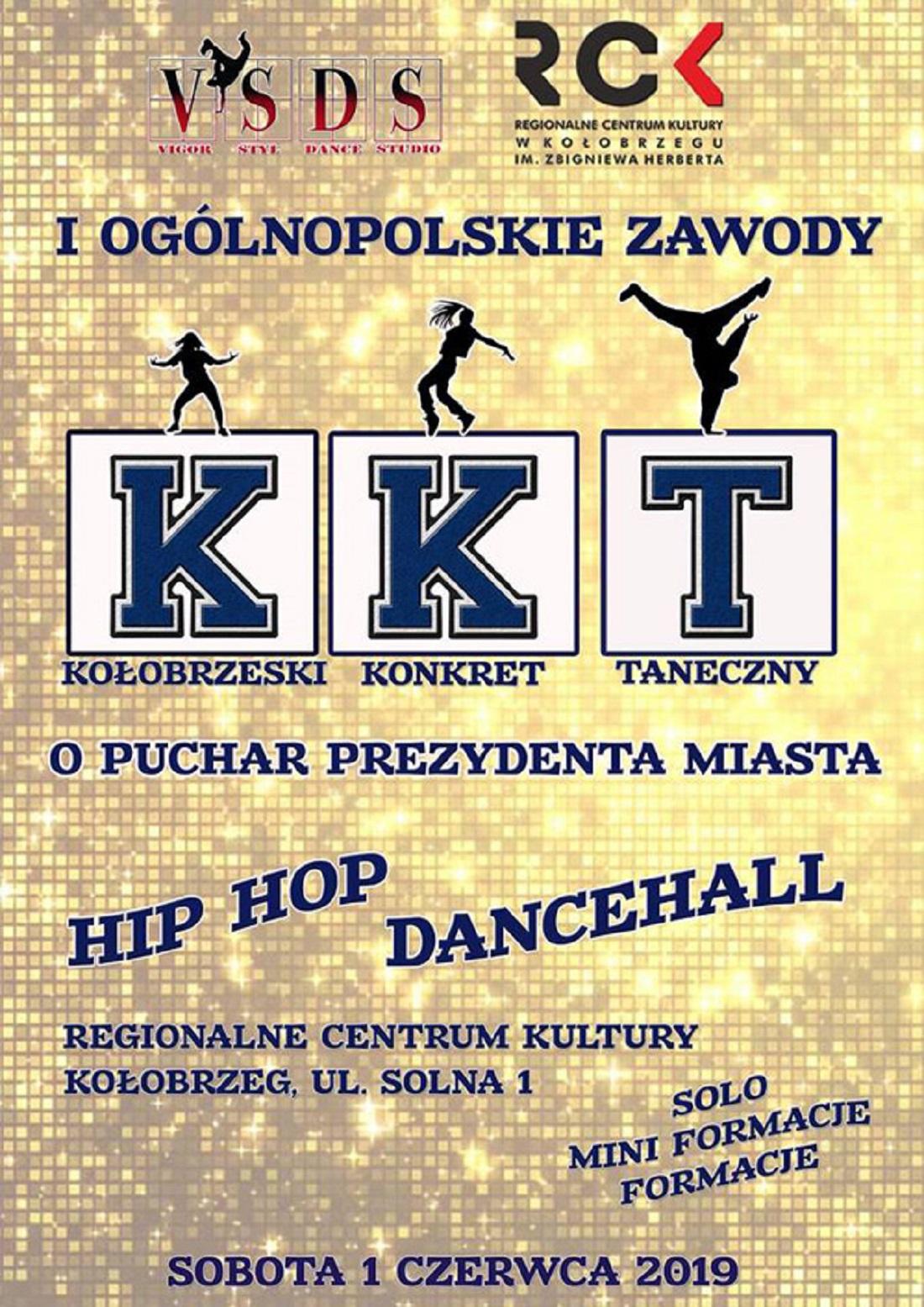 """I Ogólnopolskie Zawody Taneczne """"Kołobrzeski Konkret Taneczny"""""""
