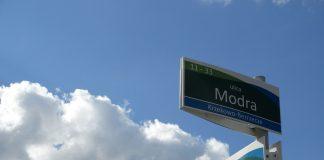 tablice nazwy ulic prawobrzeże
