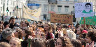 drugi Młodzieżowy Strajk Klimatyczny Szczecin