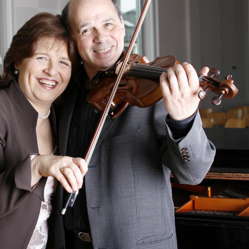 Dina Yoffe i Mikhail Vaiman z Camerata Stargard