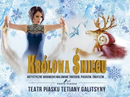 Teatr Piasku - Królowa Śniegu