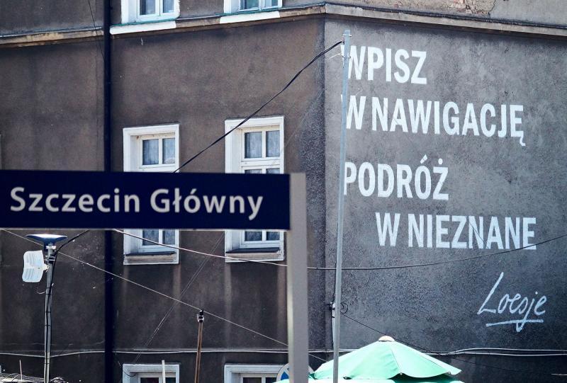 mural Loesje Szczecin