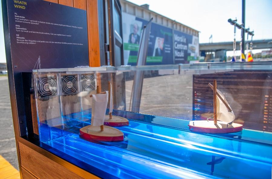 wystawa Morskie Centrum Nauki Dni Morza