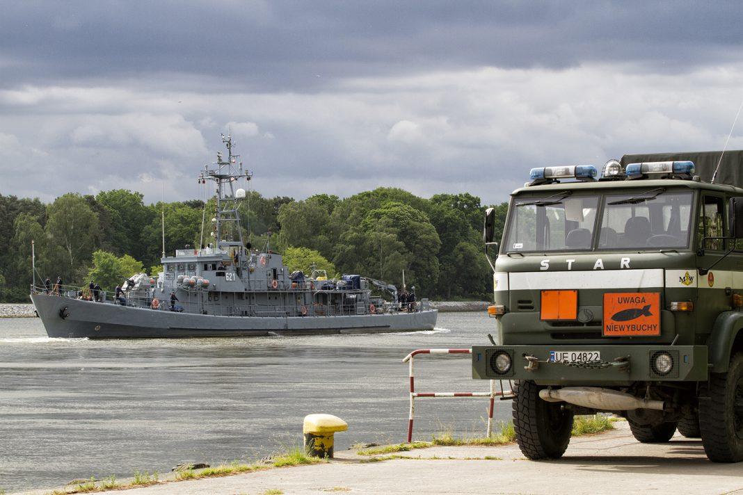 neutralizacja miny morskiej Świnoujście