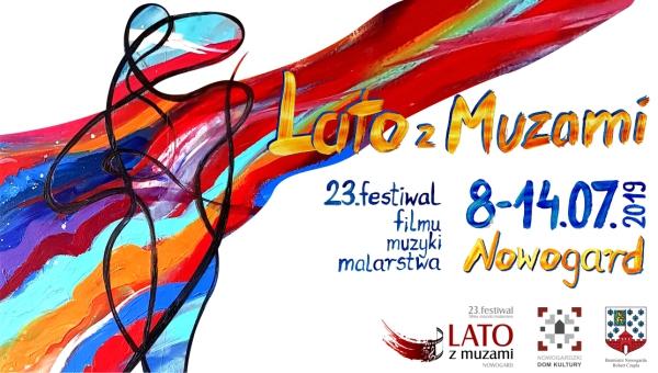 "23. Festiwal Filmu Muzyki Malarstwa ""Lato z Muzami"""