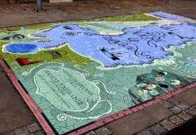 mozaika Aleja Żeglarzy