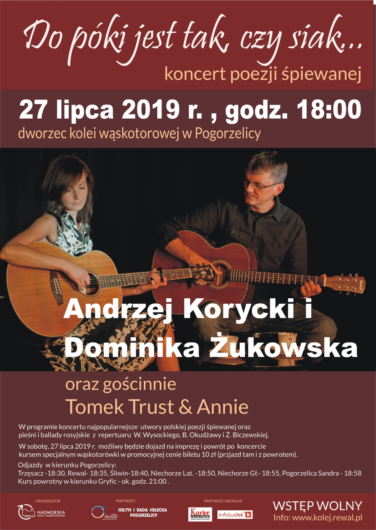 Andrzej Korycki Dominika Żukowska Pogorzelica