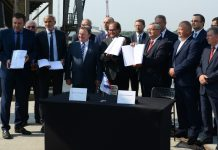 kolejowy dostęp port Szczecin Świnoujście