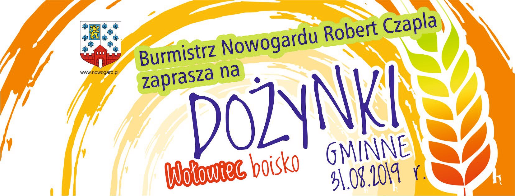 Dożynki Gminne 2019 w Wołowcu