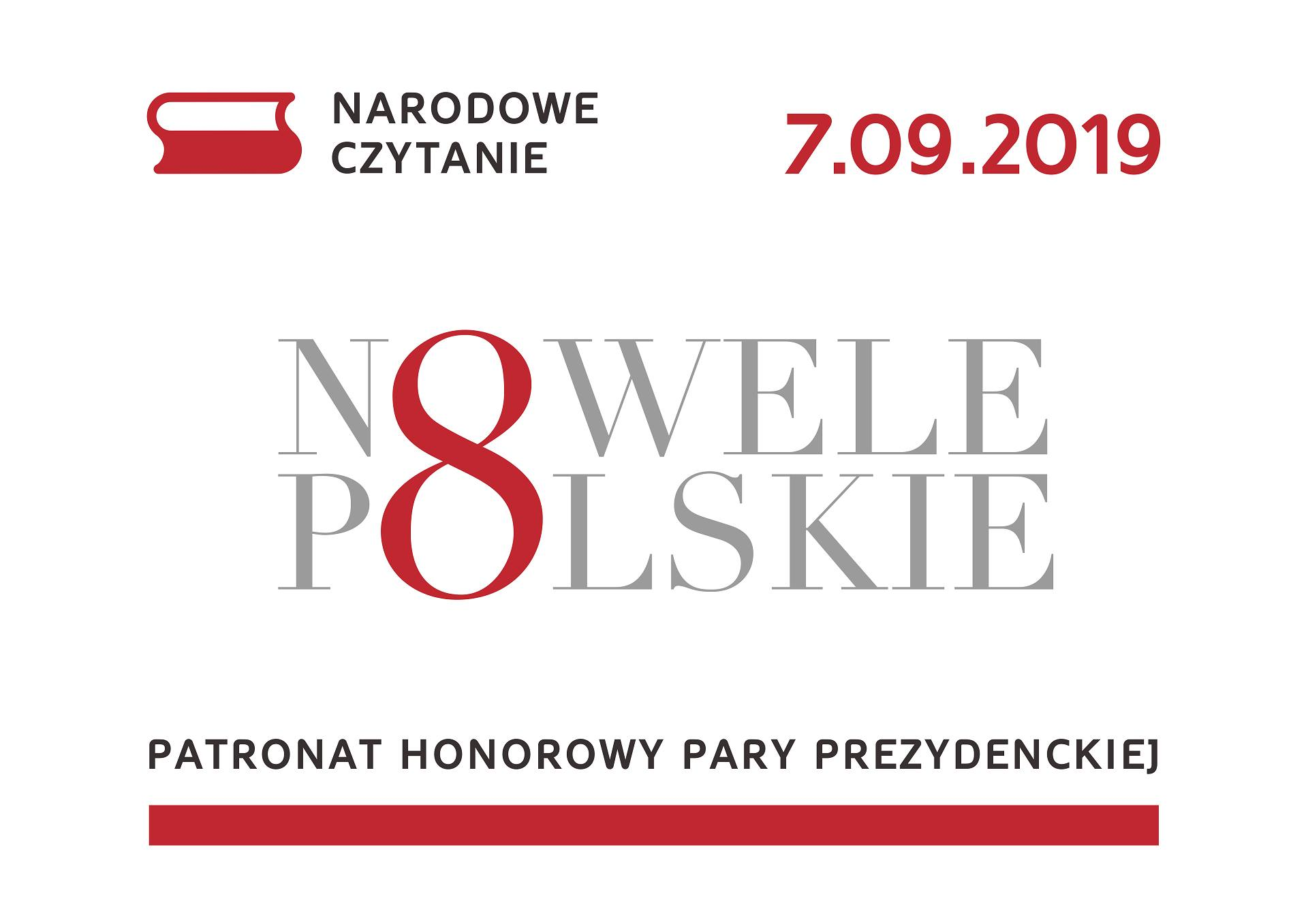 """Narodowe czytanie 2019 w """"13 Muzach"""" - nowele polskie"""