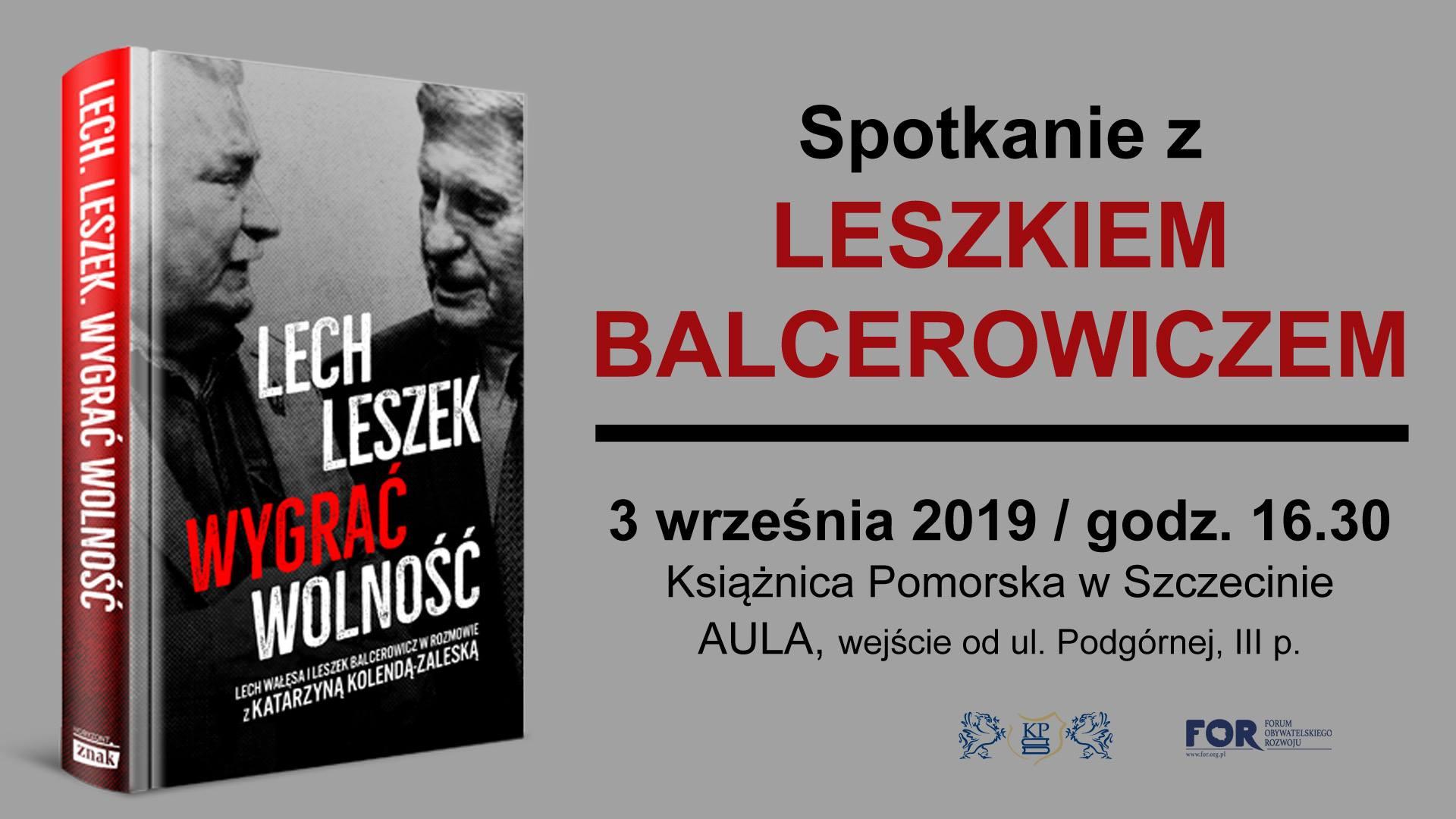 Spotkanie z Leszkiem Balcerowiczem