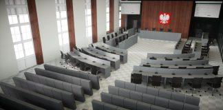 budowa sala sesyjna przetarg