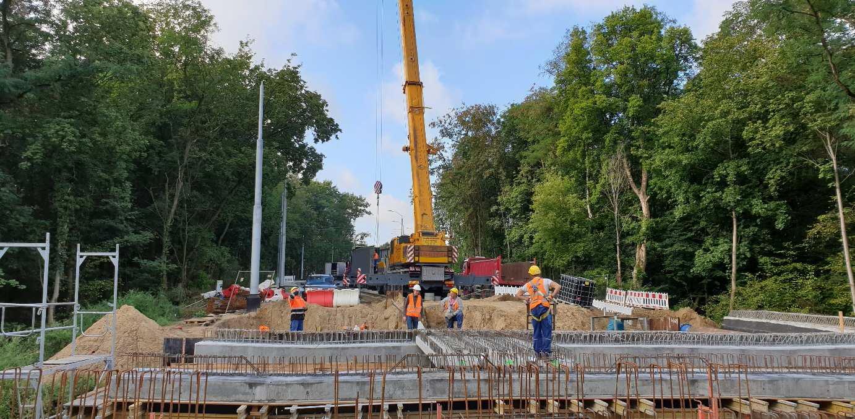 ulica Arkońska przebudowa wrzesień 2019