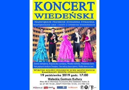 Koncert Wiedeński - największe przeboje Johanna Staussa
