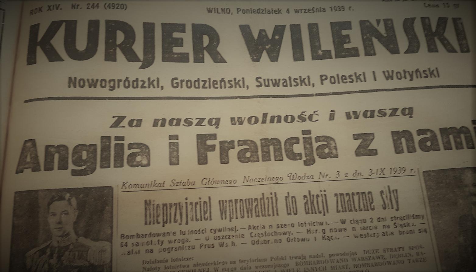 """Wykład i debata """"Francja wobec Polski w 1939 roku"""""""