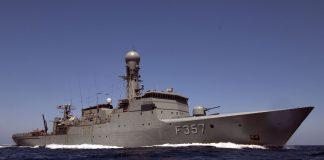 okręty wojskowe 20-lecie korpusu NATO