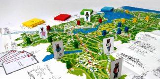 gra planszowa Rodzina Mobilków w podróży