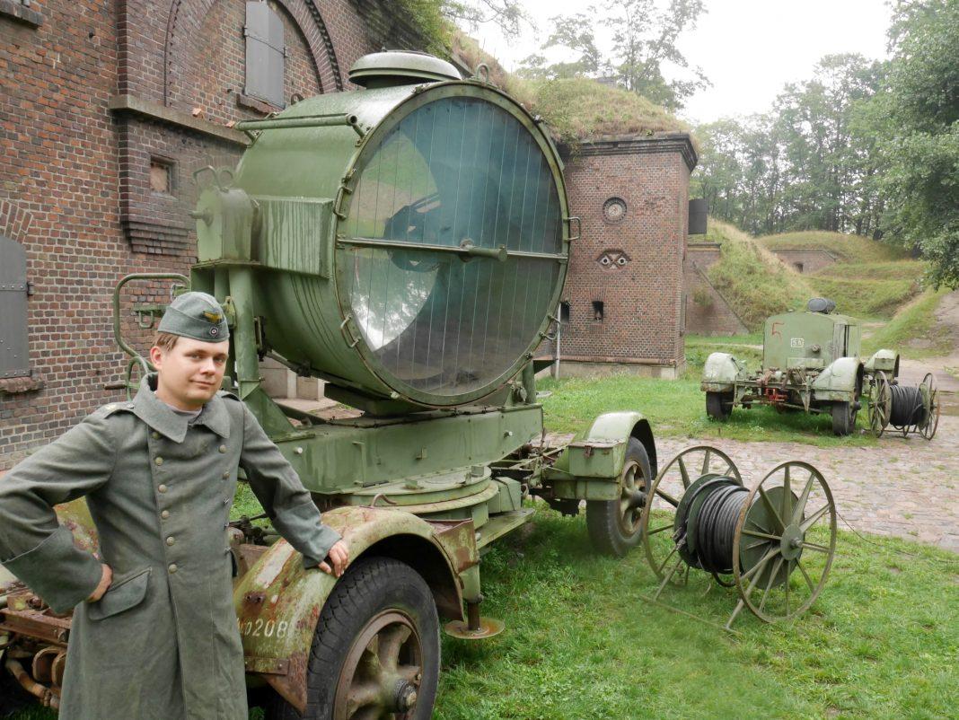 reflektor przeciwlotniczy Świnoujście